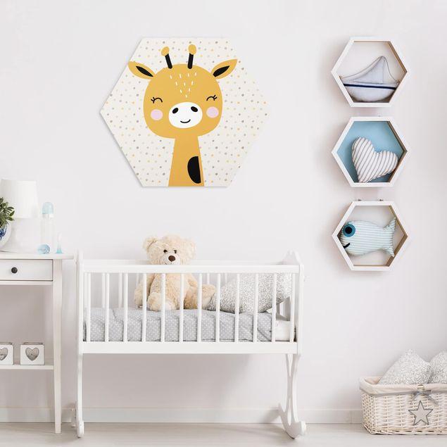 Hexagon Bild Forex - Baby Giraffe