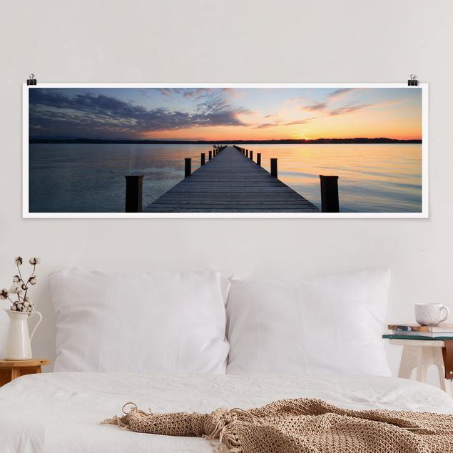 Poster - Ort der Ruhe - Panorama Querformat
