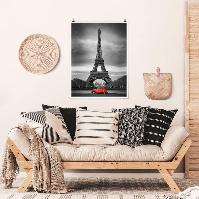 Poster - Spot on Paris - Hochformat 3:4