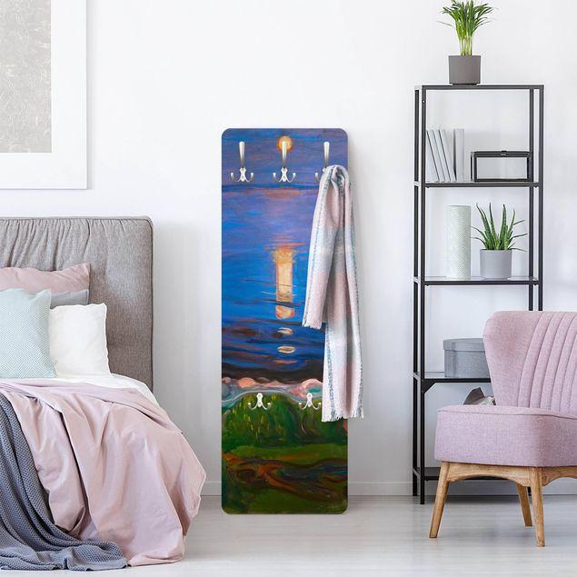 Garderobe - Edvard Munch - Sommernacht am Meeresstrand