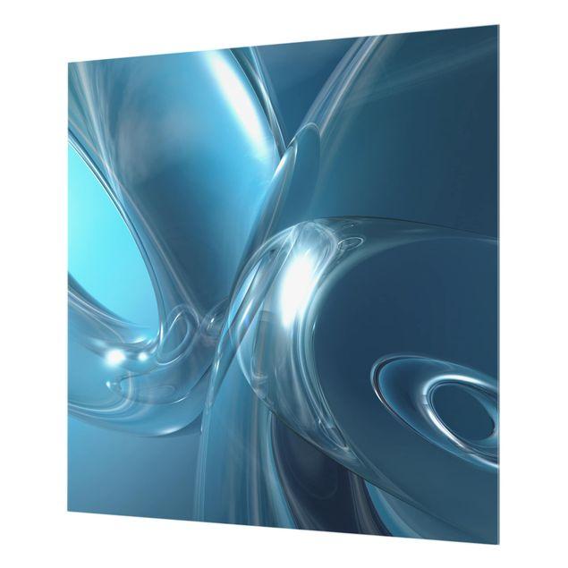Glas Spritzschutz - Underwater Universe - Quadrat - 1:1
