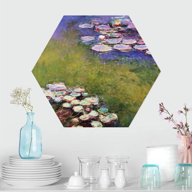 Hexagon Bild Forex - Claude Monet - Seerosen