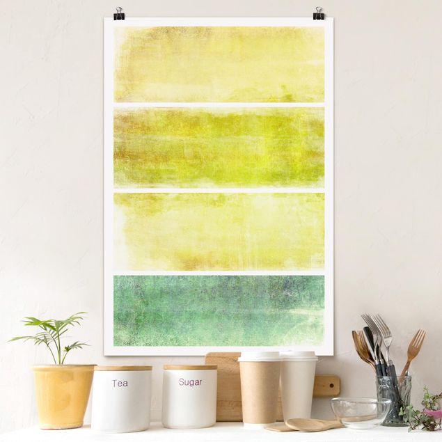 Poster - Colour Harmony Yellow - Hochformat 3:2