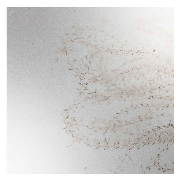 Metallic Tapete - Ein Windhauch im Gras