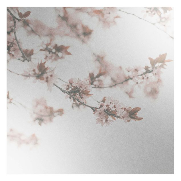 Metallic Tapete - Erinnerungen an den Frühling