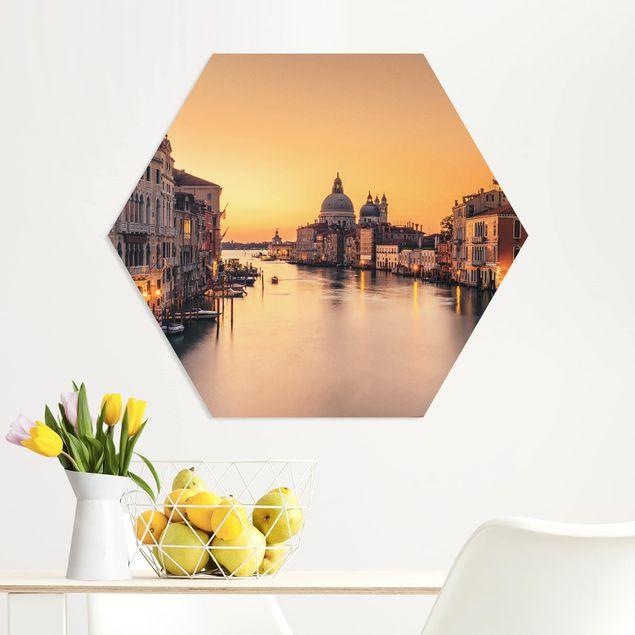 Hexagon Bild Forex - Goldenes Venedig