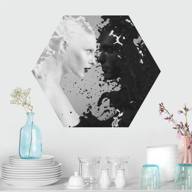 Hexagon Bild Forex - Milk & Coffee II