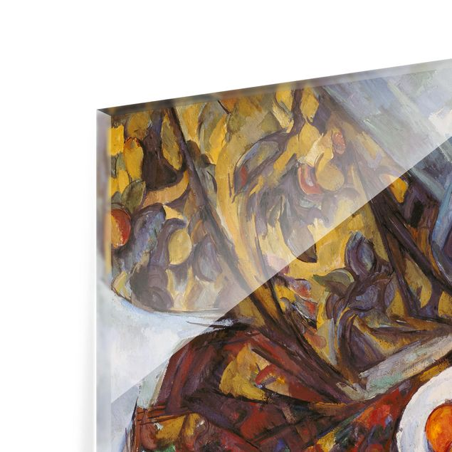 Glas Spritzschutz - Paul Cézanne - Stillleben Früchte - Querformat - 4:3