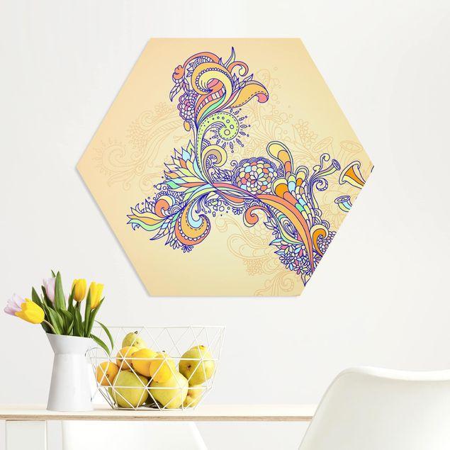 Hexagon Bild Forex - Sommerillustration