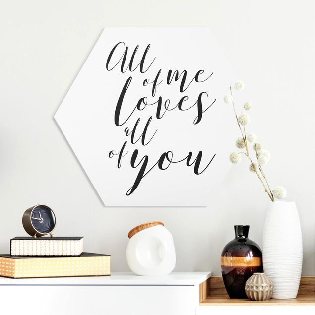 Hexagon Bild Forex - All of me loves all of you