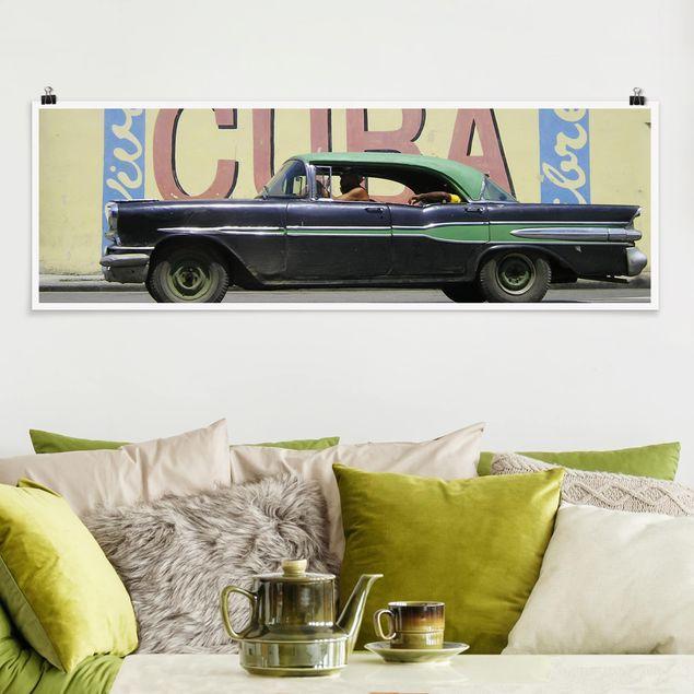 Poster - Show me Cuba - Panorama Querformat