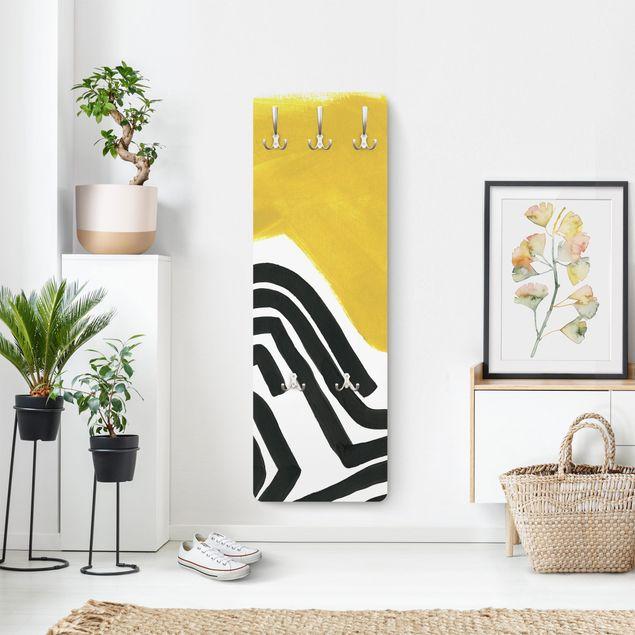 Garderobe - Farbenlabyrinth I