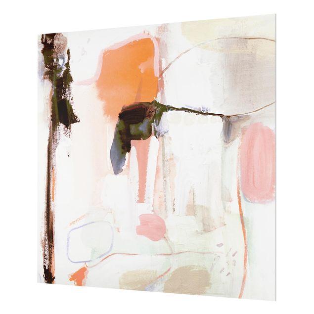 Glas Spritzschutz - Ravel II - Quadrat - 1:1
