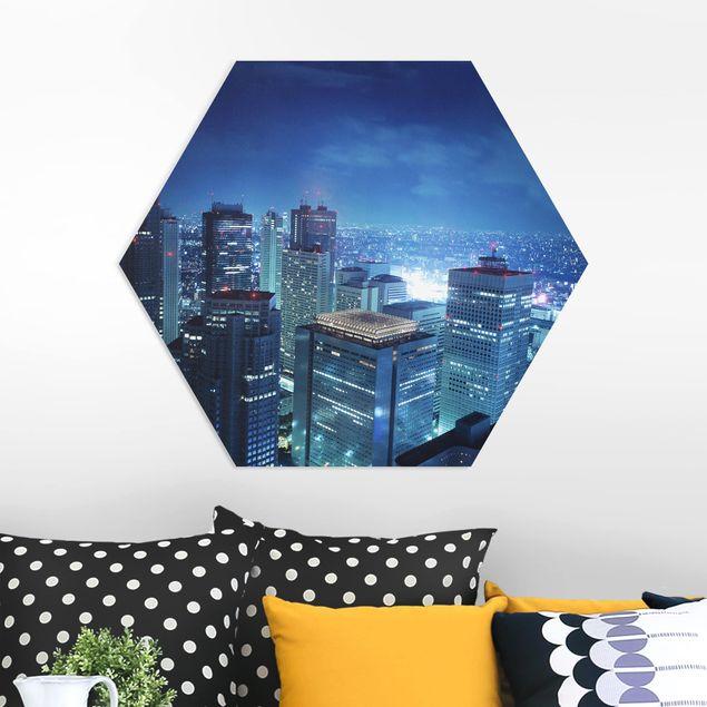 Hexagon Bild Forex - Die Atmosphäre Tokios