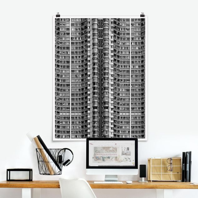 Poster - Skyscraper - Hochformat 3:4