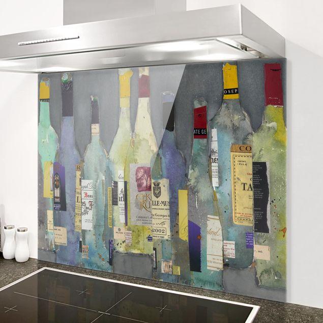 Glas Spritzschutz - Entkorkt - Spirituosen - Querformat - 4:3