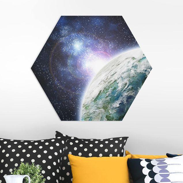 Hexagon Bild Forex - Galaxy Light