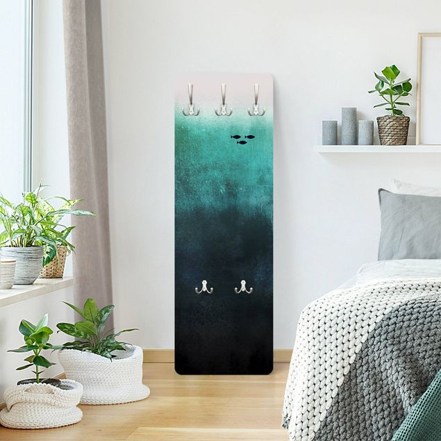 Garderobe - Fische in der Tiefsee