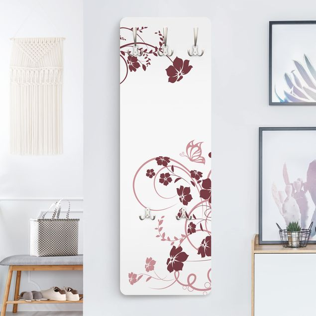 Garderobe Blumen - Apricot Blossom - Modern