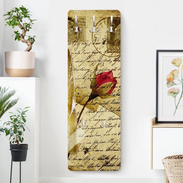 Garderobe Blumen - Heavenly Postcard - Beige