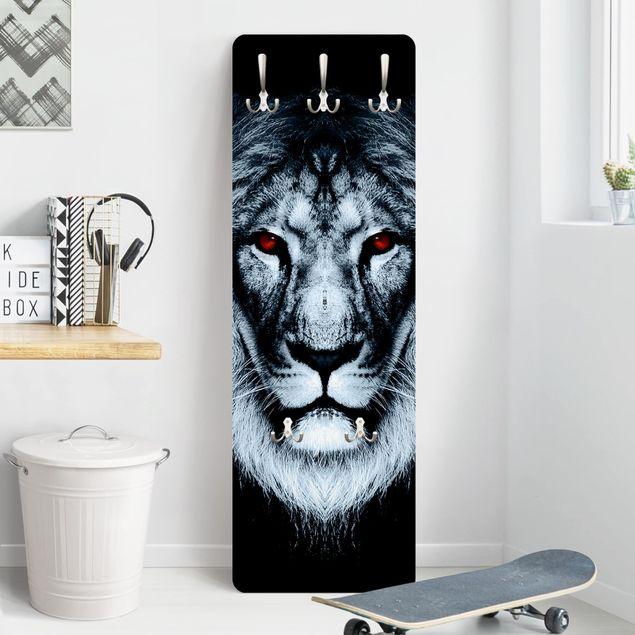 Garderobe - Dark Lion - Schwarz