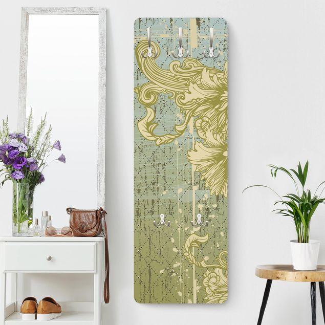 Garderobe - Ornament Hintergrund - Modern mit Muster