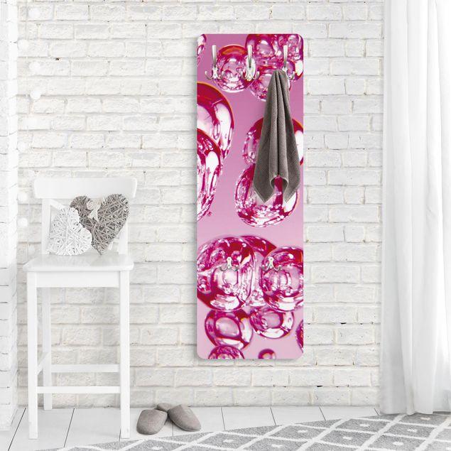 Garderobe - Pink Bubbles - Rosa Pink