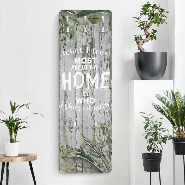 Garderobe - Shabby Tropical - Home is