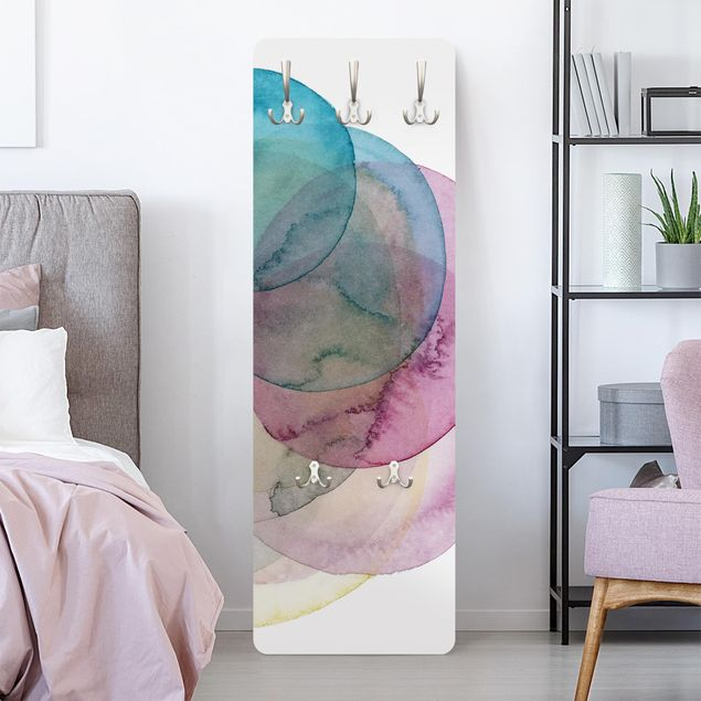 Garderobe - Urknall - rosa