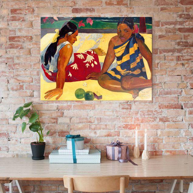 Kunstdruck Paul Gauguin - Tahitische Frauen (oder Frauen