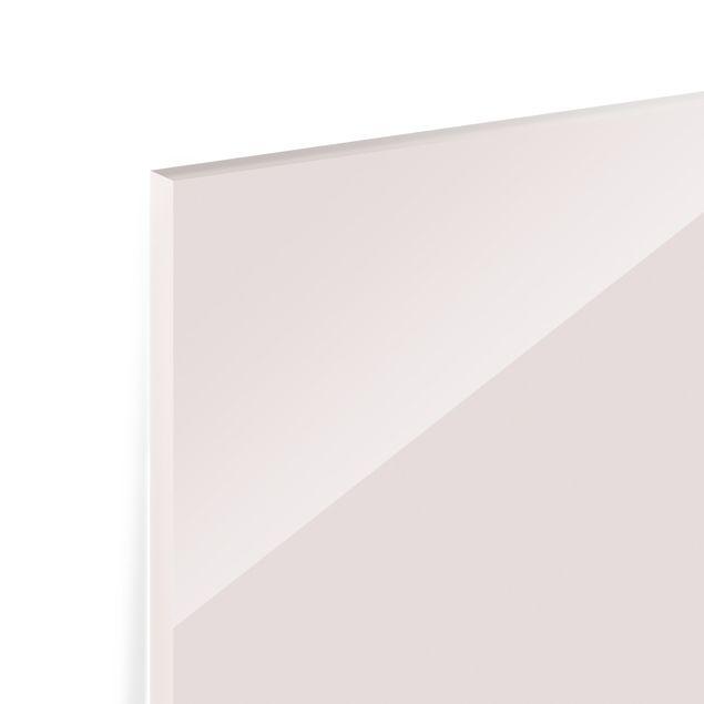 Spritzschutz Glas - Glitzerndes Herz - Panorama 5:2