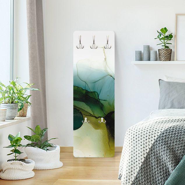 Garderobe - Goldener Waldspaziergang