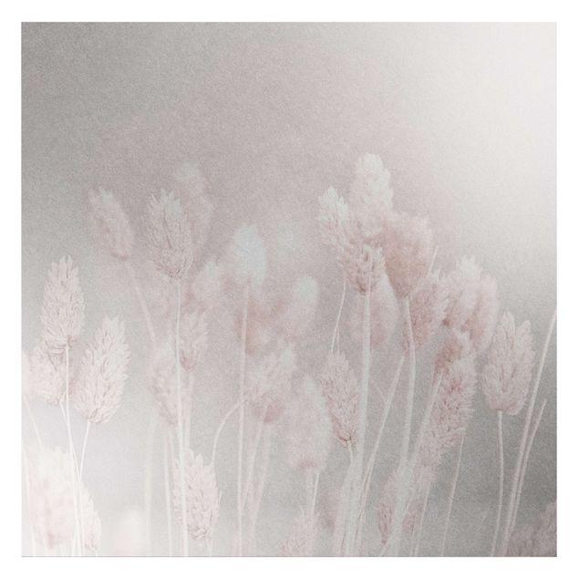 Metallic Tapete - Helles Gras im Sonnenlicht