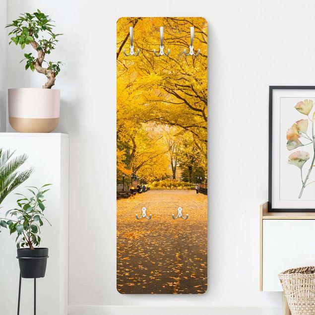 Garderobe - Herbst im Central Park