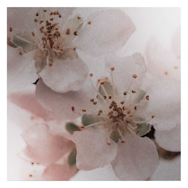 Metallic Tapete - Im Herzen der Blüte