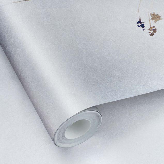Metallic Tapete - Japanisches Ikebana