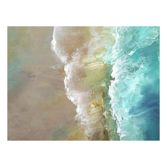 Spritzschutz Glas - Luftküste - Querformat 4:3