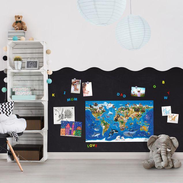 Magnetfolie - Magnetwand selbstklebend - Kinderzimmer