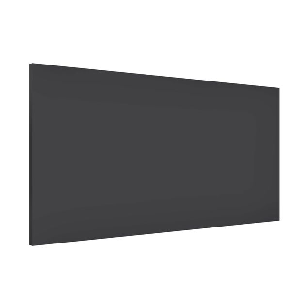 Magnettafel - Colour Dark Grey - Memoboard Panorama Quer