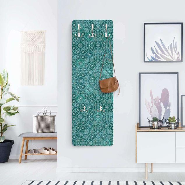 Garderobe - Marokkanisches Blumen Muster