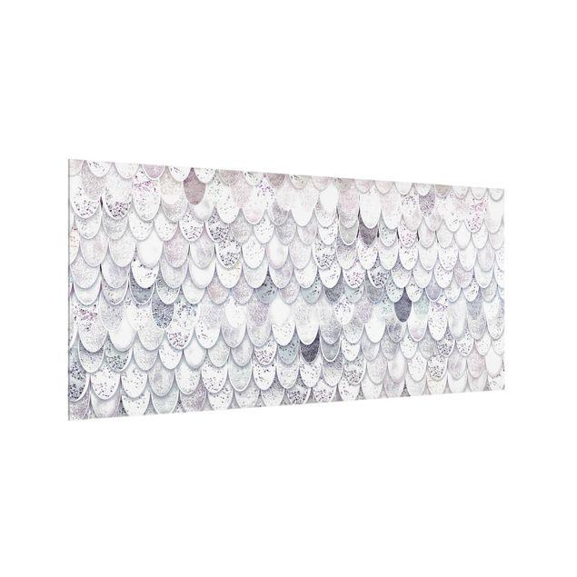 Spritzschutz Glas - Meerjungfrauen Magie - Querformat 2:1