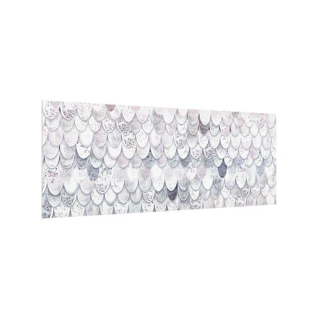 Spritzschutz Glas - Meerjungfrauen Magie - Panorama 5:2