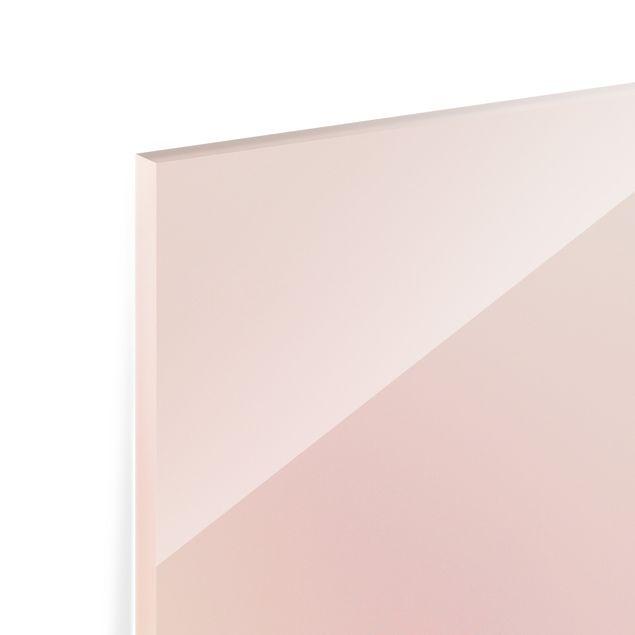 Spritzschutz Glas - Mohnblüte in der Dämmerung - Panorama 5:2