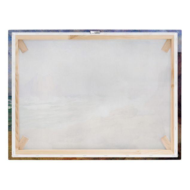 Leinwandbild - Ozean an der Bucht Malerei - Querformat 4:3