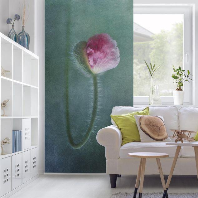 Raumteiler - Blüte In Rosa 250x120cm