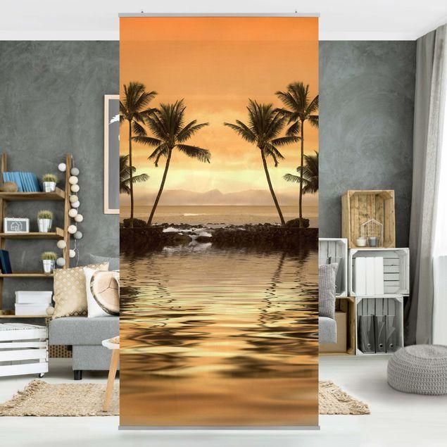 Raumteiler - Caribbean Sunset I 250x120cm