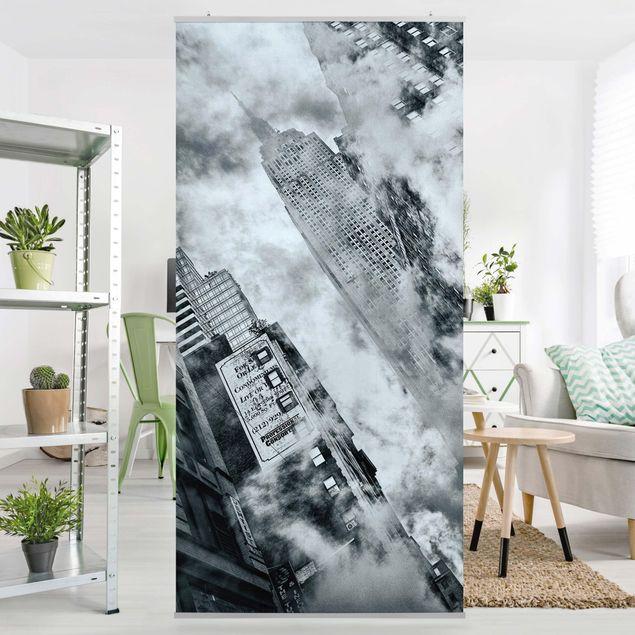 Raumteiler - Fassade Des Empire State Buildings 250x120cm