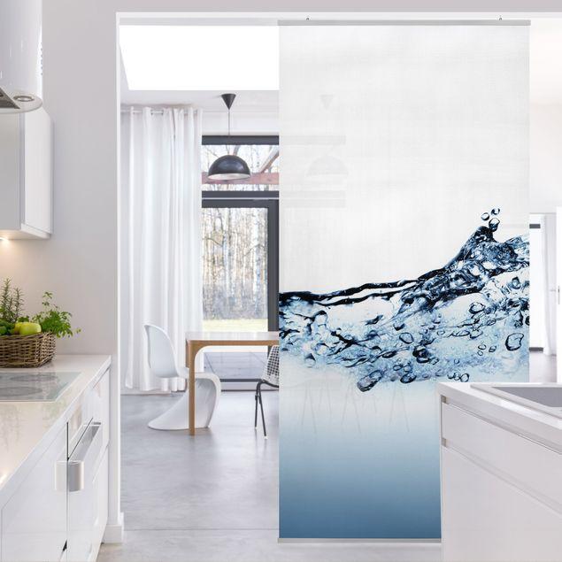 Raumteiler - Fizzy Water 250x120cm