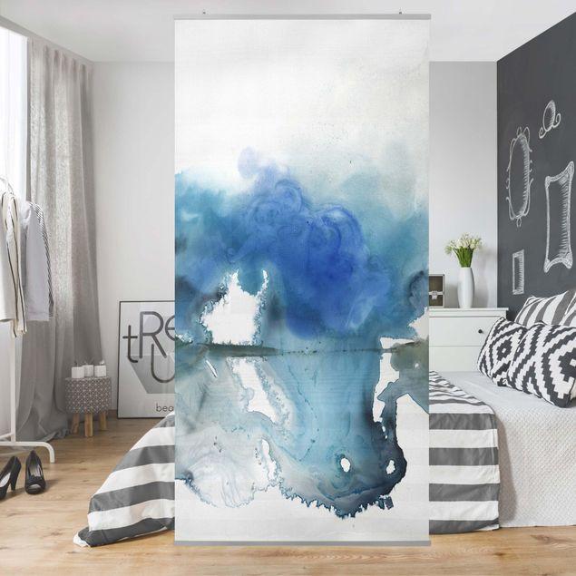 Raumteiler - Gletscherschmelze I - 250x120cm