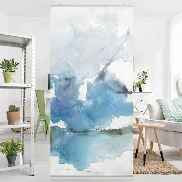 Raumteiler - Gletscherschmelze II - 250x120cm